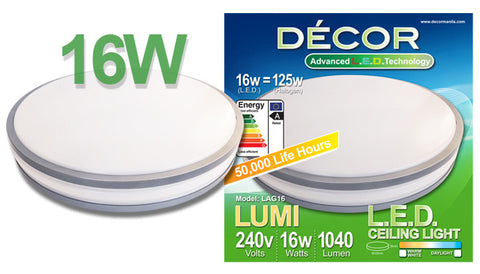LUMI L.E.D. Ceiling Light 16W