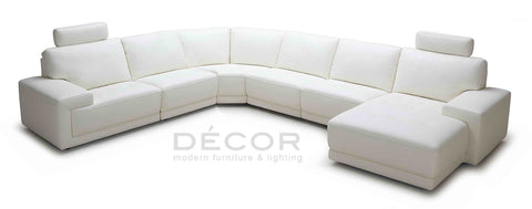 MASERATI Sectional Leather Sofa