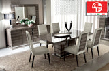 MONACO Dining Table (Extend 1.6m to 2.1m) and 6pcs Dining Chair Set - ALF® ITALIA