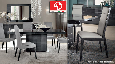 MONTECARLO Dining Table (Extend 1.6m to 2.1m) and 6pcs Dining Chair Set - ALF® ITALIA