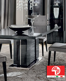 MONTECARLO Dining Table - LONG (Extend 2m to 2.5m) and 8pcs Dining Chair Set - ALF® ITALIA