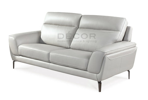 NORWAY 3 Seater Leather Sofa