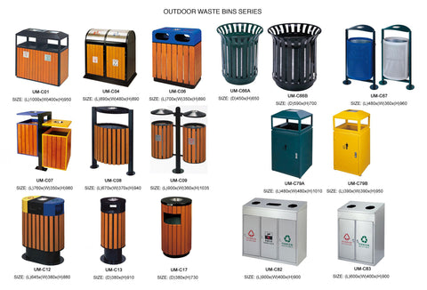 Outdoor Garbage Bins 1