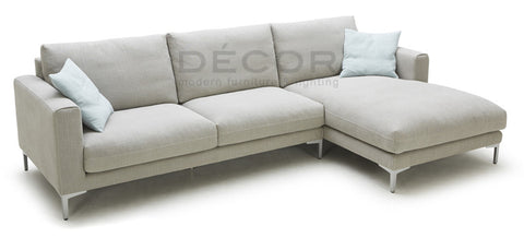 REMINGTON L-SHAPE Fabric Sofa
