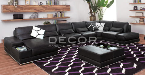ROYALE Leather Sofa