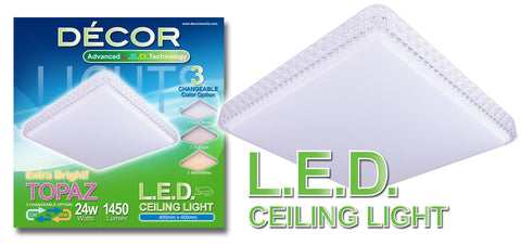 TOPAZ L.E.D. Ceiling Light