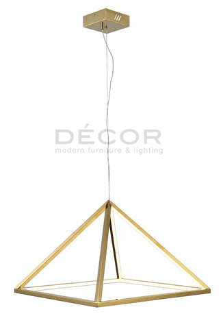 TRIANGULO L.E.D. Drop Light (2 sizes - sold separately)