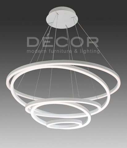 VISTANA 5 Rings L.E.D. Drop Light