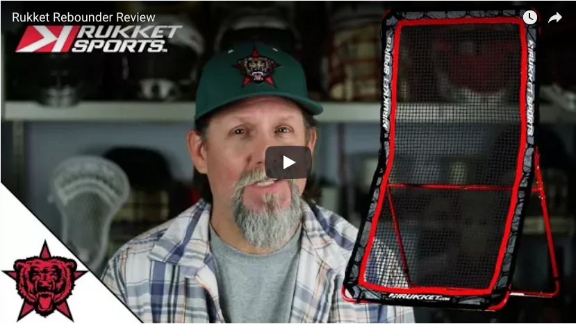 Red Star Lacrosse Reviews the 4x7 Fat Boy Rebounder