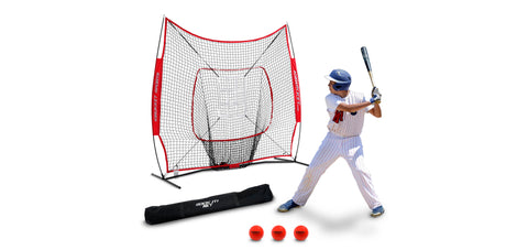Rukket Sports sock it hitting net and throwing net