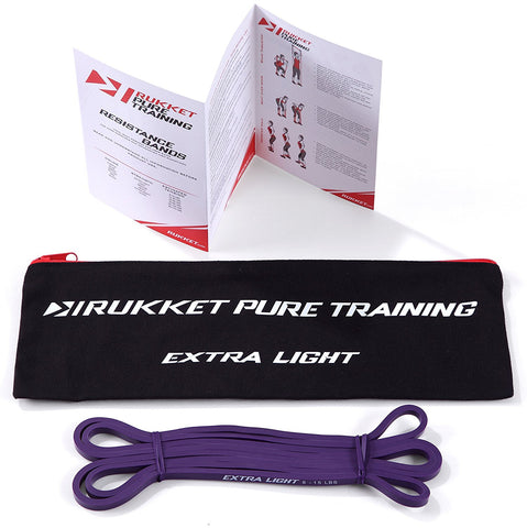 PureTraining Stretch Resistance Bands (6 individually-sold Resistance Levels)