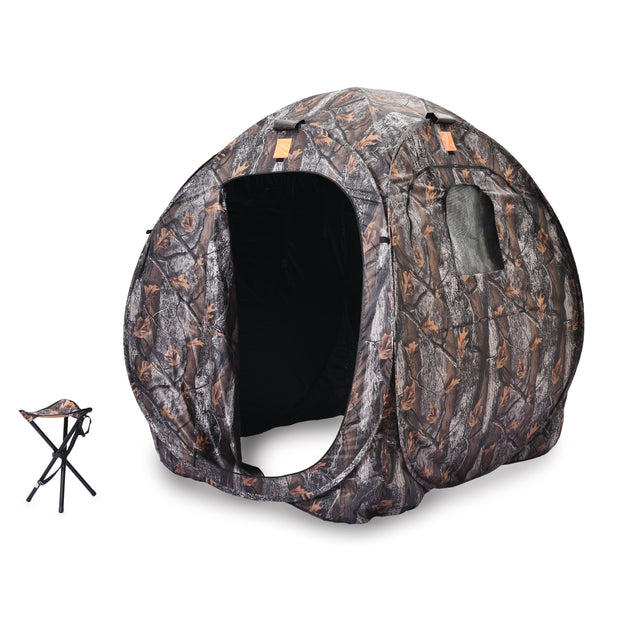 Hunting Blind w/ Tripod Stool