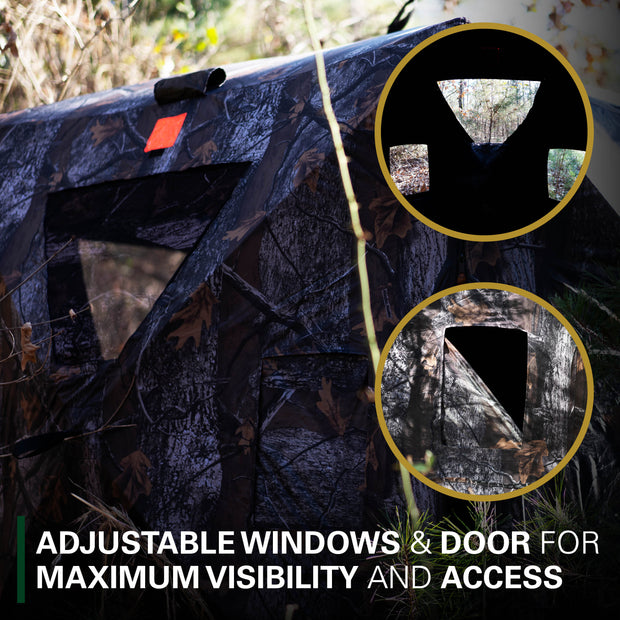 Deluxe Pop-Up Hub Style Hunting Blind
