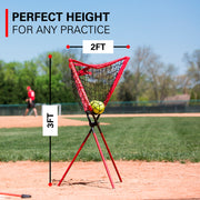 XL Portable Batting Practice Ball Caddy