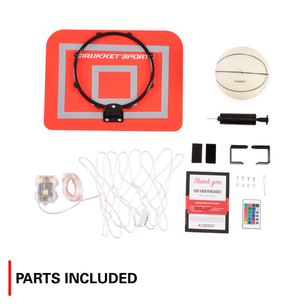 Lights Out Basketball Hoop