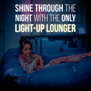 Glow-Nana Light-Up Air Lounger