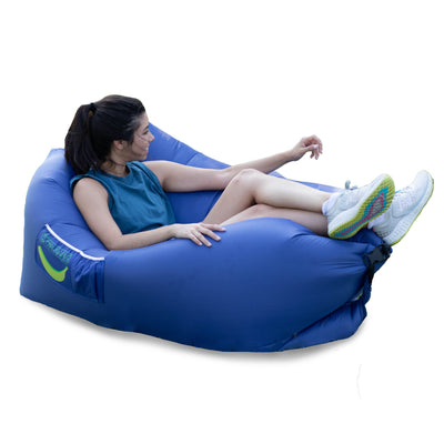 Glow-Nana Light-Up Mini Air Lounger (Deep Space)