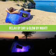 Glow-Nana Light-Up Mini Air Lounger (Galaxy)