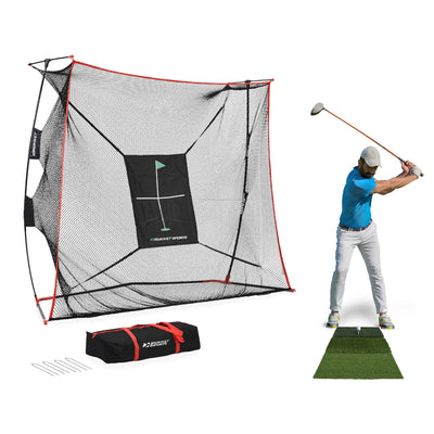 The Haack Net Pro w/ Tri-Turf Mat