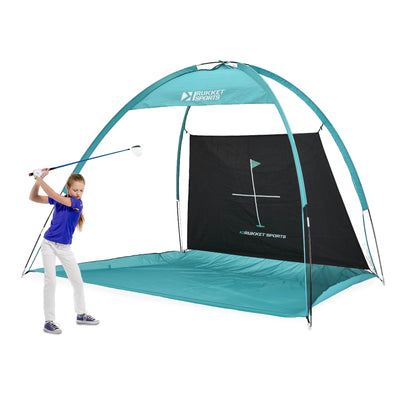 The Haack Jr. 10x6 Portable Golf Net for Kids