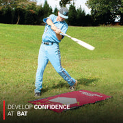 Baseball/Softball Swing Training Mat