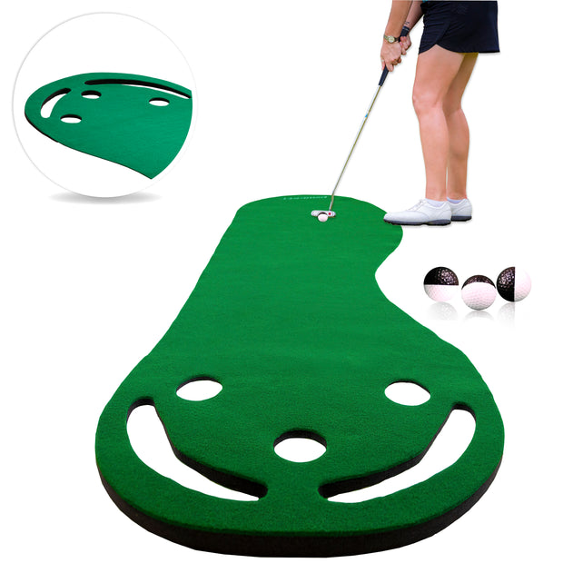 Rukket Putting Green with Alignment Golf Balls