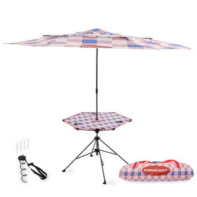 Camping Table | Portable Fold Up Picnic Camp Table