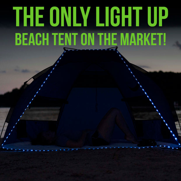 LED Beach Shelter