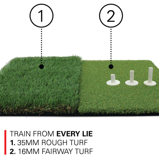 Twin-Turf Golf Hitting Mat XL