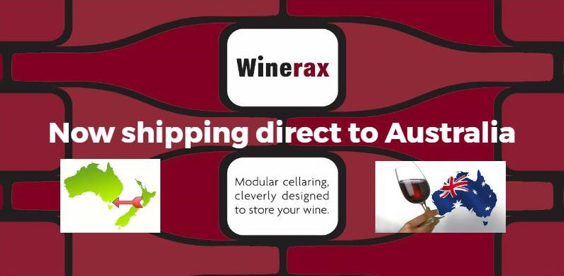 Winerax is now shipping direct to Australia