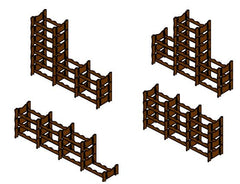 Winerax 48 bottle modular wine rack configuration options (2)