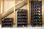 WInerax 18 bottle, 36 bottle and 54 bottle wine racks