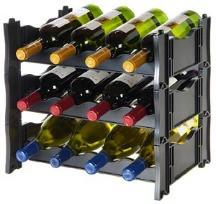 Wine Rack - Winerax 12 Bottle Starter Module - with bottles