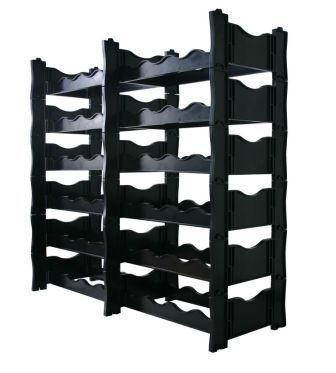 Wine Rack - Winerax 48 Bottle Rack (Side By Side Configuration) - without bottles