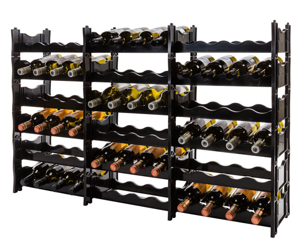 Wine Rack - Winerax 72 Bottle Rack with bottles