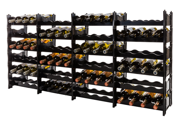 Wine Rack - Winerax 96 Bottle Rack - with bottles