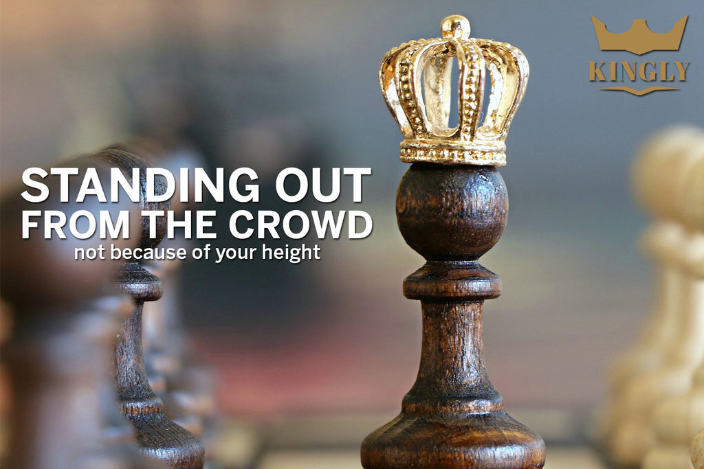 Standing Out From the Crowd – Not Because of Your Height