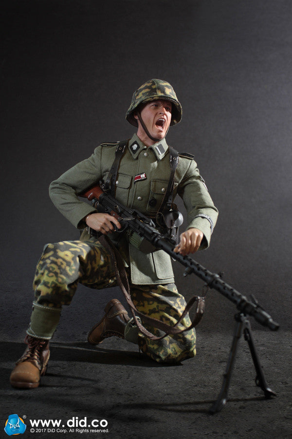 New from DID-D80124 3rd SS-Panzer-Division MG34 Gunner - Alois