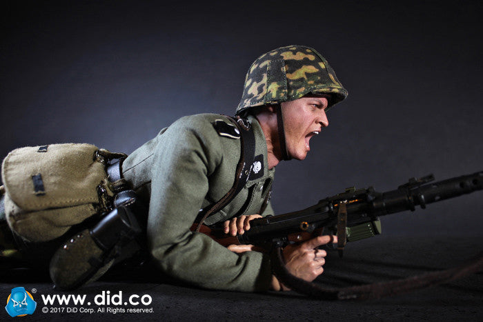 DID - 3rd SS-Panzer-Division MG34 Gunner - Alois - Ages