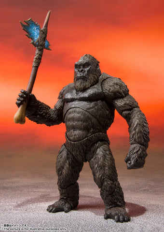 Bandai - S.H.Monsterarts Godzilla VS King Kong [2021]: King Kong
