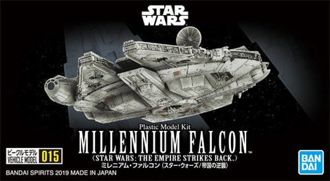 Bandai - Star Wars Vehicle Model - 015 Millenium Falcon (Star Wars: The Empire Strikes Back) (1/350 Scale)