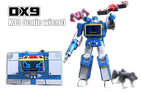 DX9 - War in Pocket - X33 Sonic Wizard