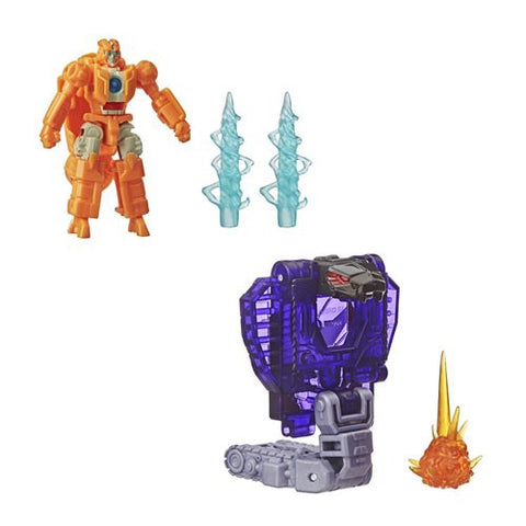 Transformers Earthrise - Battle Masters Wave 2 set of 2