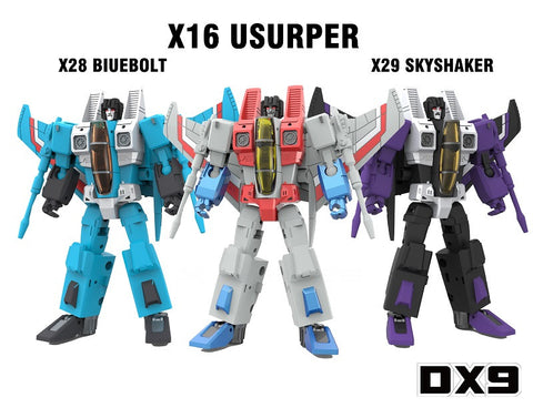 DX9 - War in Pocket - X16 Usurper, X28 Bluebolt, X29 Skyshaker - Seeker Set of 3
