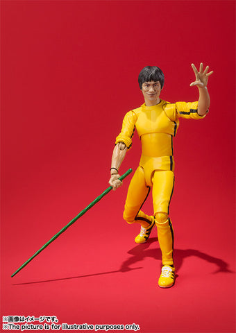 Bandai - S.H.Figuarts Bruce lee Yellow Track Suit