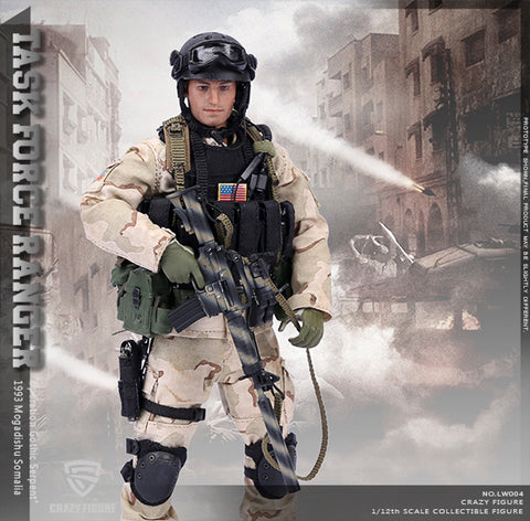 Crazy Figure - 1/12 US Delta Special Force