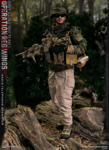 DAM Toys - Operation Red Wings NAVY SEALS SDV Team 1 Radio Telephone Operator