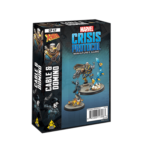 Atomic Mass Games - Marvel Crisis Protocol: Cable and Domino Character Pack