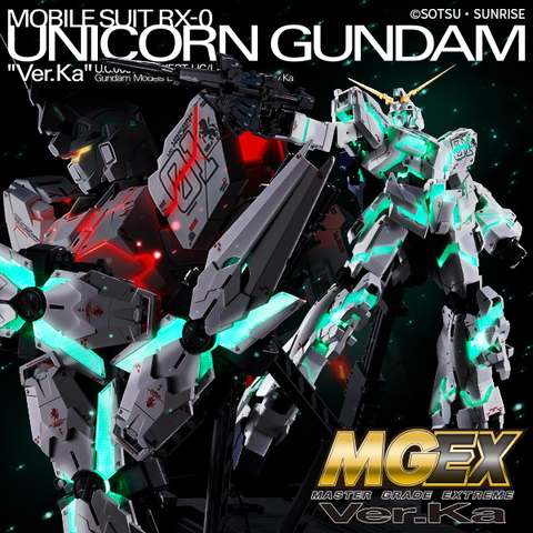 Master Grade Extreme 1/100 - Unicorn Gundam Ver. Ka. (Deposit Required)