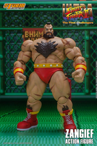 Storm Collectibles - Ultimate Street Fighter II The Final Challenger: Zangief
